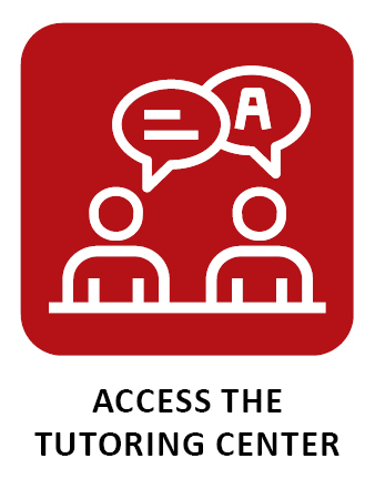 Click to access the tutoring center.