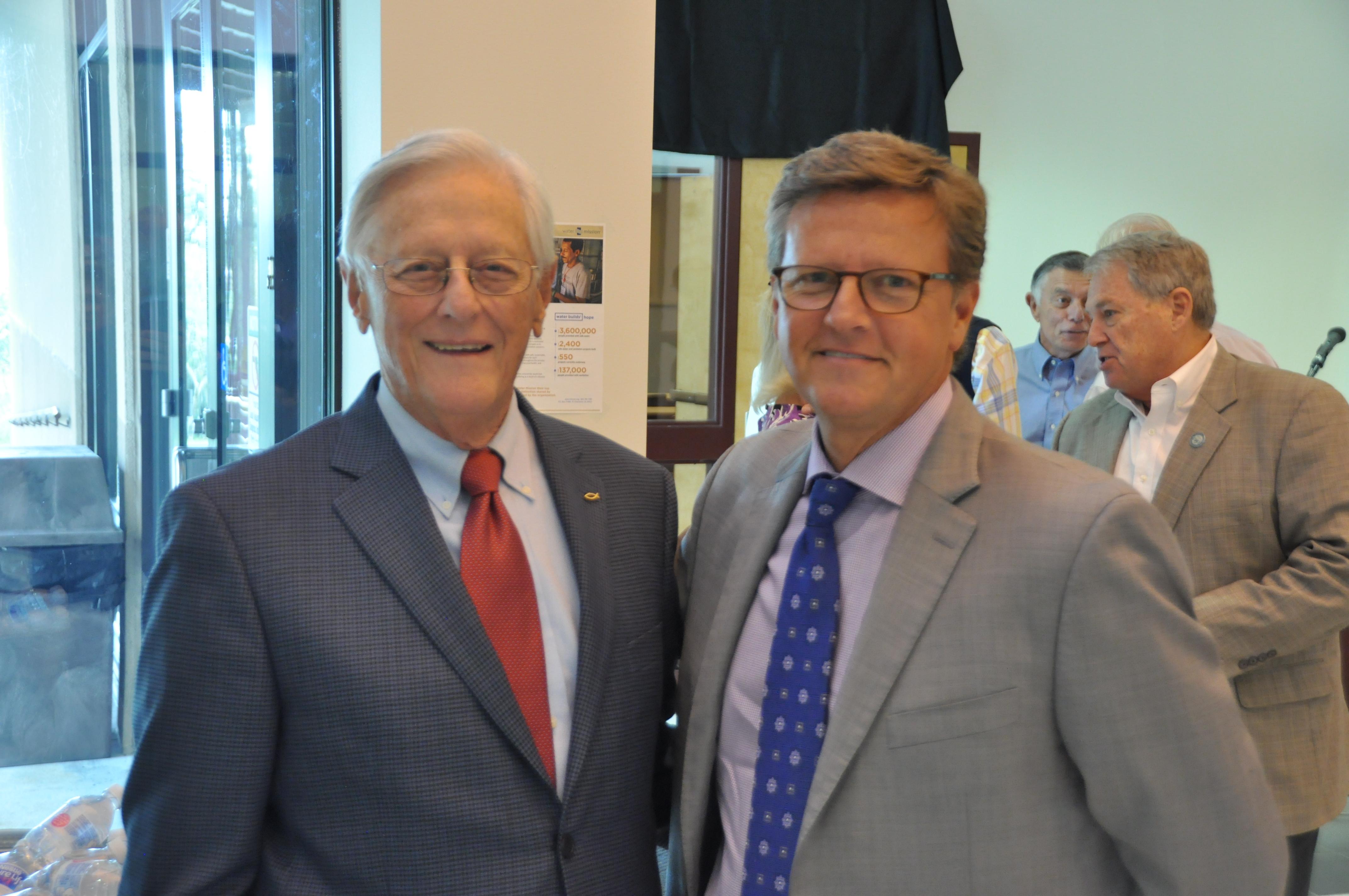 Dr. Charles Duvall & Steve Duvall