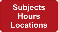 Subjects Hours Locations