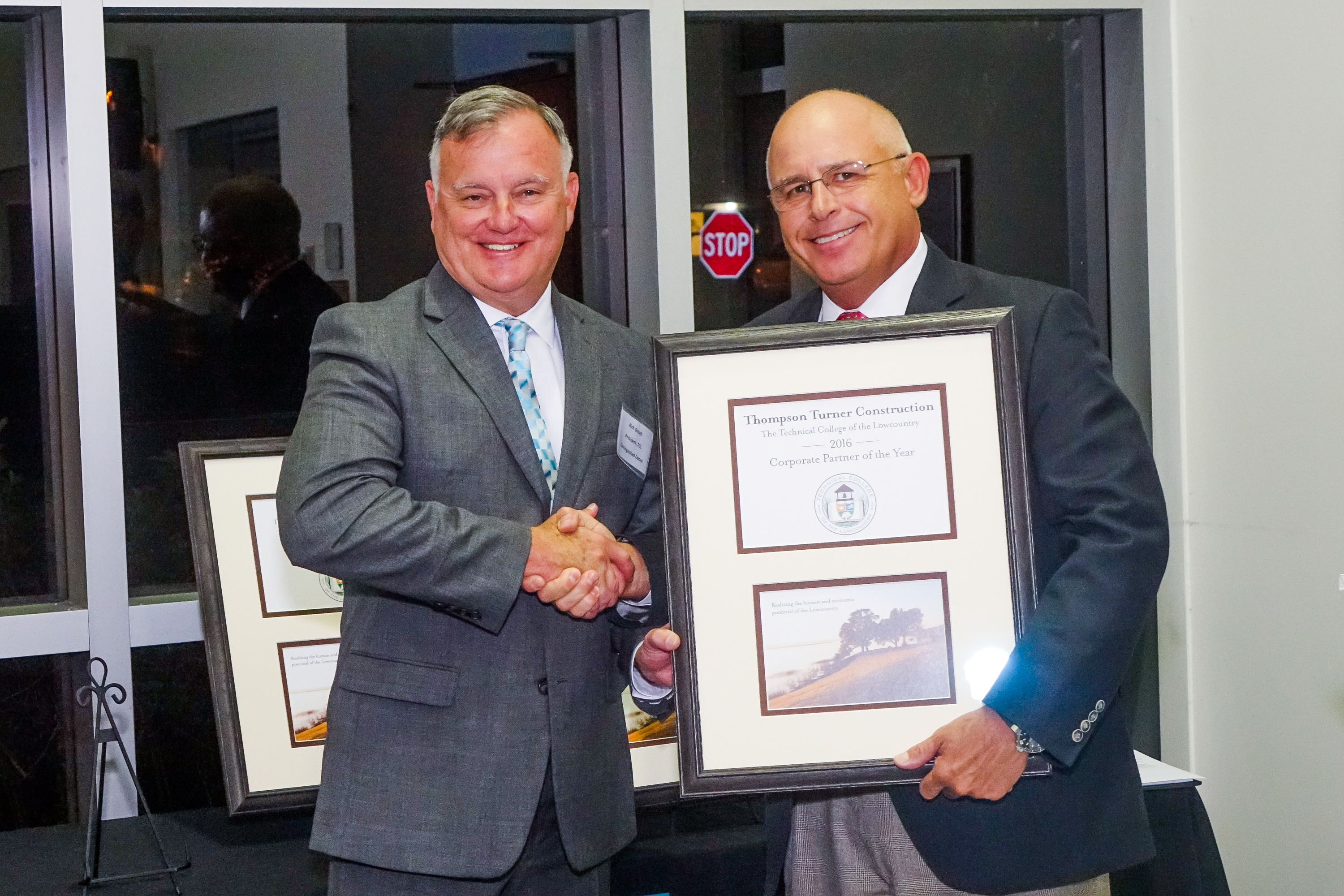 Photo-Thompson Turner Construction-TCL Corporate Partner of the Year (Mr. Hal Turner, pictured)