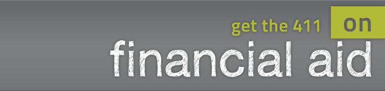 financial aid banner